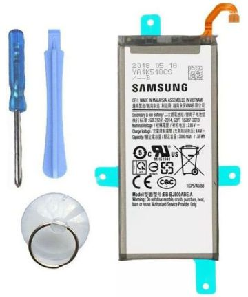 Originele Samsung Galaxy A6 (2018) Batterij EB-BJ800ABE 3000mAh