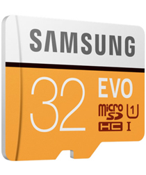 Samsung Evo 32GB MicroSD Class 10 UHS-I