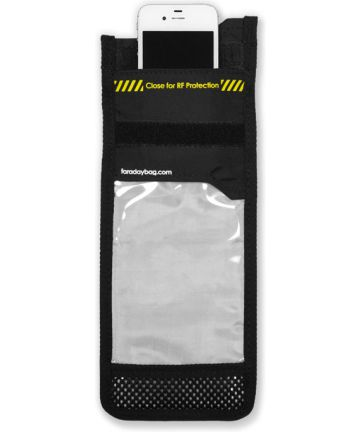 Disklabs Faraday Bag Phone Shield 2 (PS2) Met Window