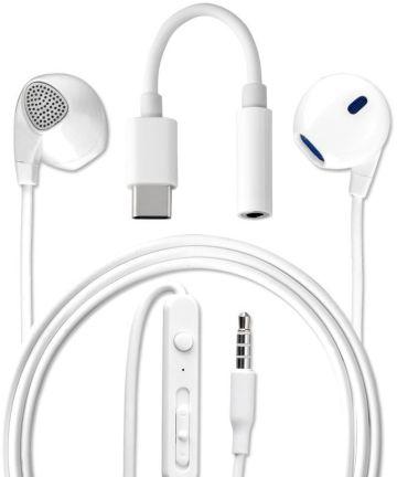 4Smarts Melody Headset met USB Type-C Aansluiting Wit