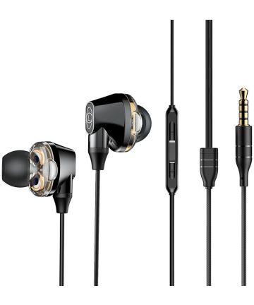 Baseus Encok H10 In-Ear Universele Bedrade Oordopjes 3.5mm Jack Zwart Headsets