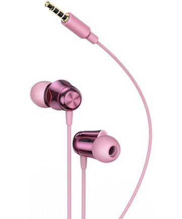 Baseus Encok H13 In-ear Oordopjes Smartphone Headset Roze