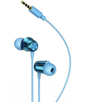 Baseus Encok H13 In-ear Oordopjes Smartphone Headset Blauw