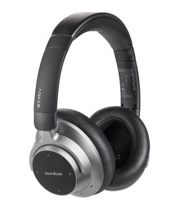 Anker Soundcore Space NC Over-Ear Bluetooth Headset Zwart/Grijs