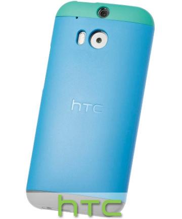 HTC One M8 Double Dip Case HC C940 Blauw