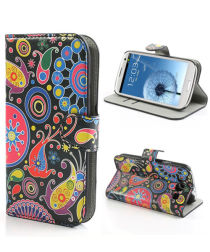Samsung Galaxy S3 Colorful Design Wallet Stand Case