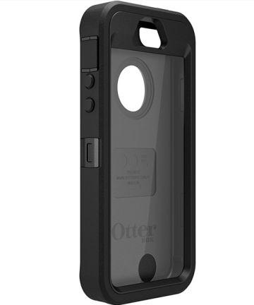 Otterbox Defender Hoesje iPhone SE 5/5S Zwart Hoesjes