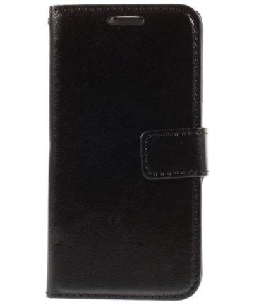 Samsung Galaxy S6 Crazy Horse Wallet Case Zwart