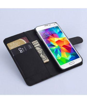 Samsung Galaxy S6 Wallet Case Zwart Hoesjes