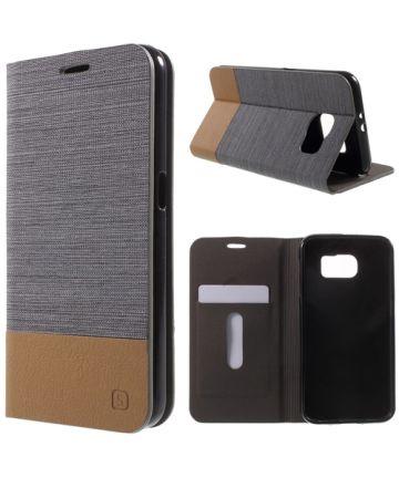 Samsung Galaxy S6 Wallet Shell Gray