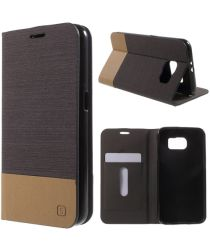 Samsung Galaxy S6 Wallet Shell Coffee