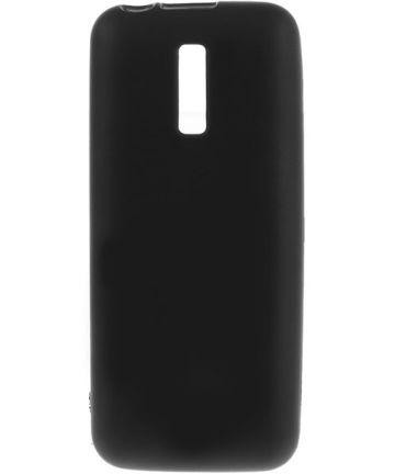 Nokia 130 Matte TPU Gel Case Zwart
