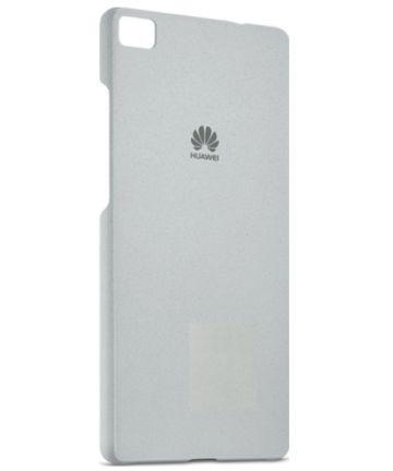 Origineel Huawei P8 Hoesje Backcover Zilver