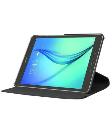 Samsung Galaxy Tab S2 (9.7) Lychee Rotary Stand Case Zwart