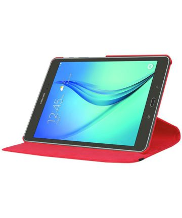 Samsung Galaxy Tab S2 (9.7) Lychee Rotary Stand Case Rood