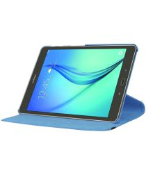 Samsung Galaxy Tab S2 (9.7) Lychee Rotary Stand Case Blauw