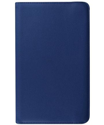 Samsung Galaxy Tab E 9.6 Rotary Stand Cover Blue