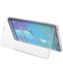 Samsung Galaxy S6 Edge Transparante Flip Case