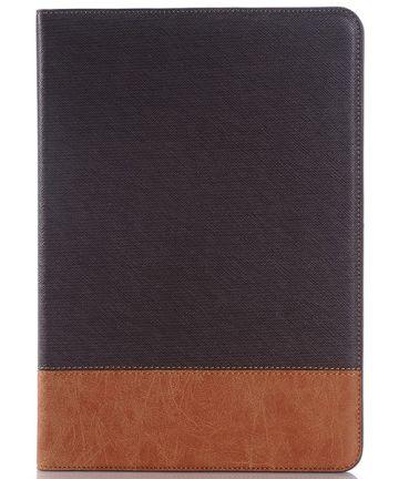Samsung Galaxy Tab S2 (9.7) Linnen Skin Wallet Case Bruin