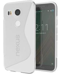 LG Nexus 5X S-Curve TPU Case Grijs