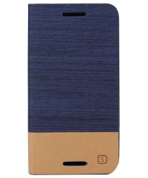 Motorola Moto G 3rd Gen Wallet Shell Blauw