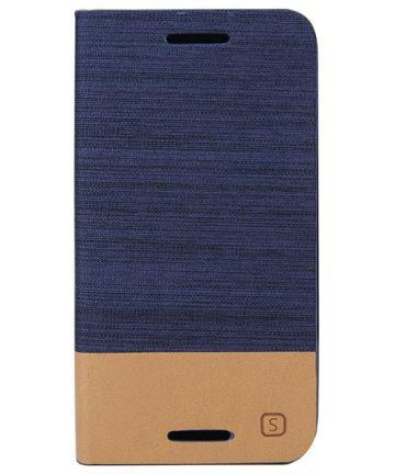 Motorola Moto G 3rd Gen Wallet Shell Blauw Hoesjes