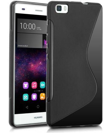 Huawei Ascend P8 Lite S-Curve TPU Back Cover Zwart