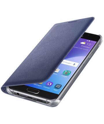 Officieel Samsung Galaxy A3 (2016) Portemonnee Hoesje Zwart