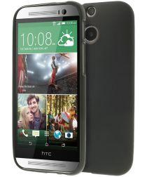 HTC One M8 TPU Hoesje Zwart