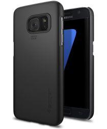 Spigen Thin Fit Case Samsung Galaxy S7 Zwart