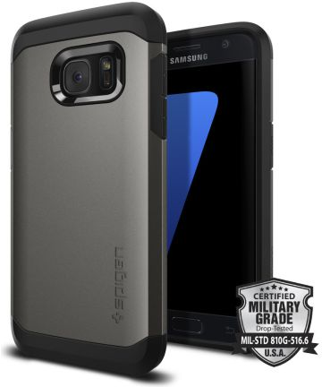 Spigen Tough Armor Case Samsung Galaxy S7 Gunmetal