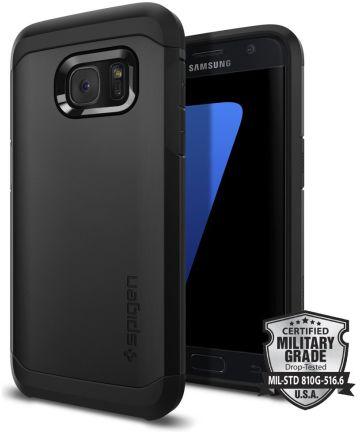 Spigen Tough Armor Case Samsung Galaxy S7 Zwart Hoesjes