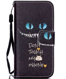 Apple iPhone 5C TPU Portemonnee Case Angry Face