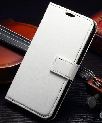 Samsung Galaxy S7 Bookcase Flip Hoesje Met Pasjes Wit Hoesjes