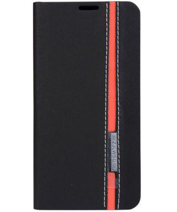 Samsung Galaxy A3 (2016) Line Flip Hoesje Zwart Hoesjes