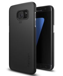 Spigen Thin Fit Hoesje Samsung Galaxy S7 Edge Black