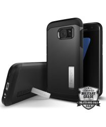Spigen Tough Armor Hoesje Samsung Galaxy S7 Edge Black
