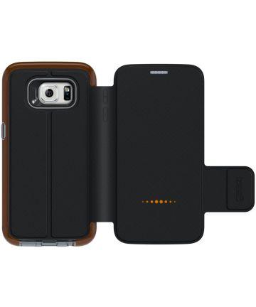 Gear4 D3O Bookcase Hoesje Samsung Galaxy S7 Edge Zwart