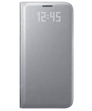 Samsung Galaxy S7 Led View Hoesje Zilver Origineel