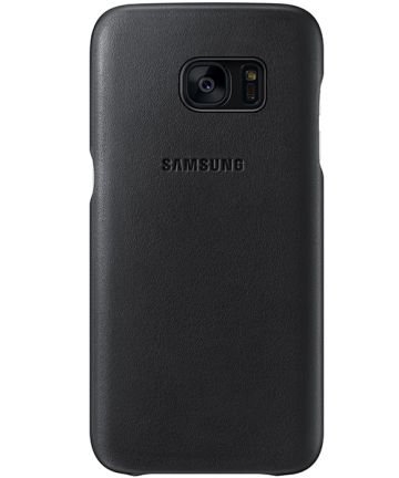 Samsung Galaxy S7 Leather Cover Zwart Origineel