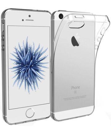 Apple iPhone SE / 5 / 5S Transparant Hoesje Hoesjes