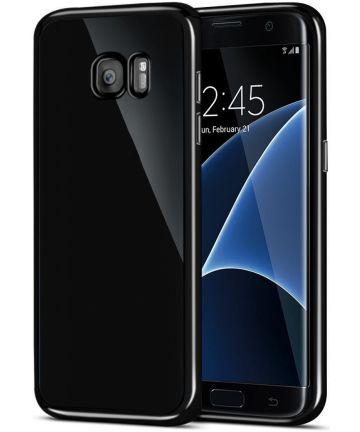 Samsung Galaxy S7 Edge TPU Hoesje Zwart