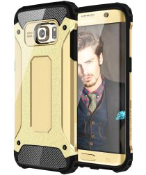 Samsung Galaxy S7 Edge Cool Armor Hoesje Goud