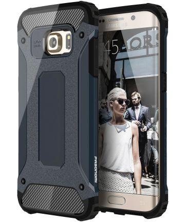 Samsung Galaxy S7 Edge Cool Armor Hoesje Blauw Hoesjes