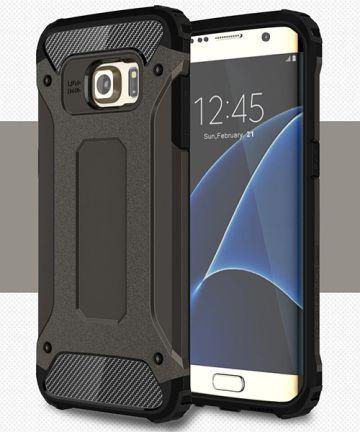 Samsung Galaxy S7 Edge Cool Armor Hoesje Zwart