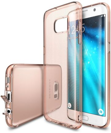 Ringke Air Samsung Galaxy S7 Hoesje Rose Gold