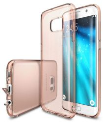Ringke Air Samsung Galaxy S7 Edge Hoesje Rose Gold