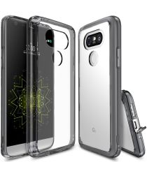 Ringke Fusion LG G5 (SE) hoesje doorzichtig Smoke Black