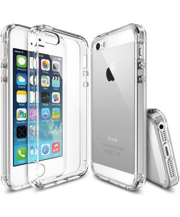 Ringke Fusion Apple iPhone SE Hoesje Doorzichtig Crystal View Hoesjes