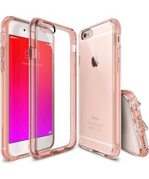 Ringke Fusion iPhone 6S Hoesje Doorzichtig Rose Gold